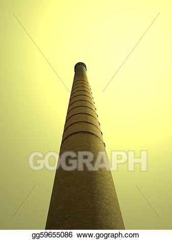 Stock illustration illustrations gg. Chimney clipart industrial chimney