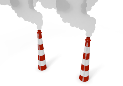 Power plant free image. Chimney clipart industrial chimney
