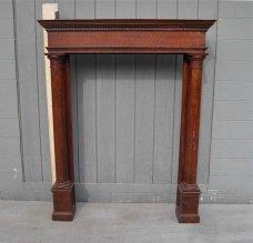 Chimney clipart mantel. Antique shelf charming fireplace