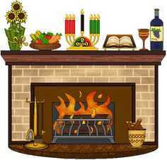 Fireplace clipart fireplace mantle. Free mantels cliparts download