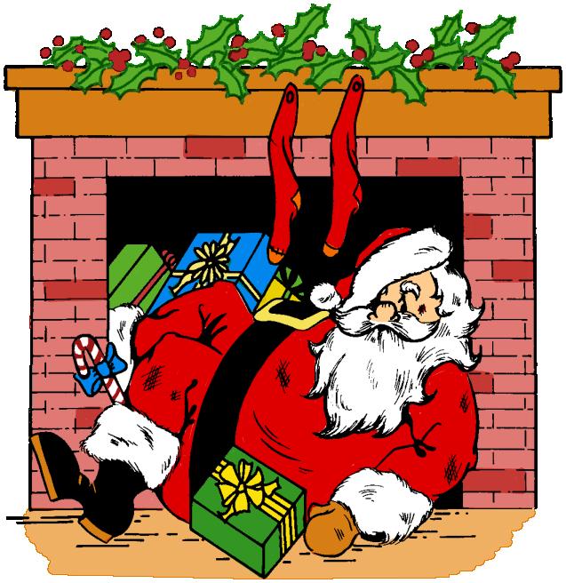 Down best upside in. Chimney clipart santa boot