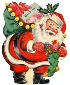 best christmas vintage. Chimney clipart santa boot