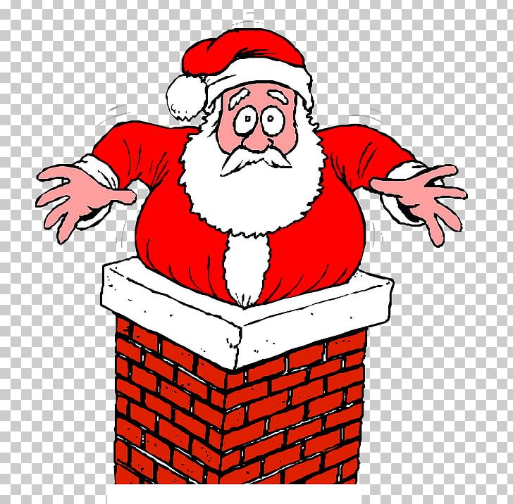 Download for free png. Chimney clipart santa foot