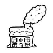 Stock illustrations royalty free. Chimney clipart smoking chimney