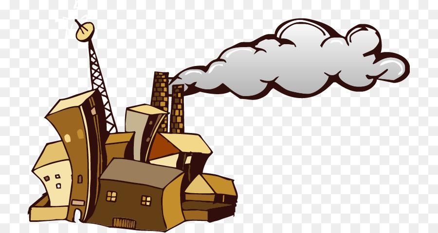 Factory smoke clip art. Chimney clipart smoking chimney