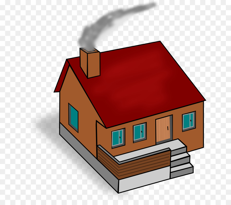 Chimney clipart smoking chimney. Real estate background house