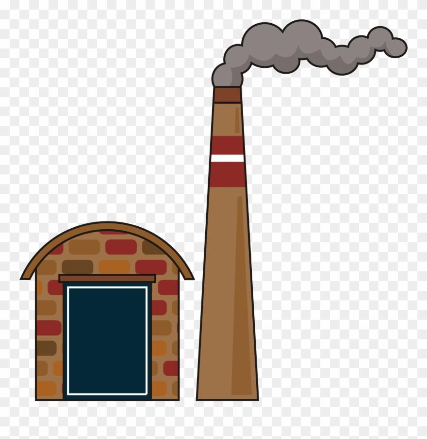 Factory smoke png . Chimney clipart smoking chimney
