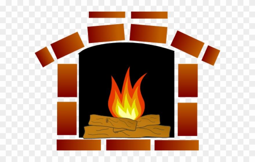 Transparent cartoon pics of. Fireplace clipart warm fire