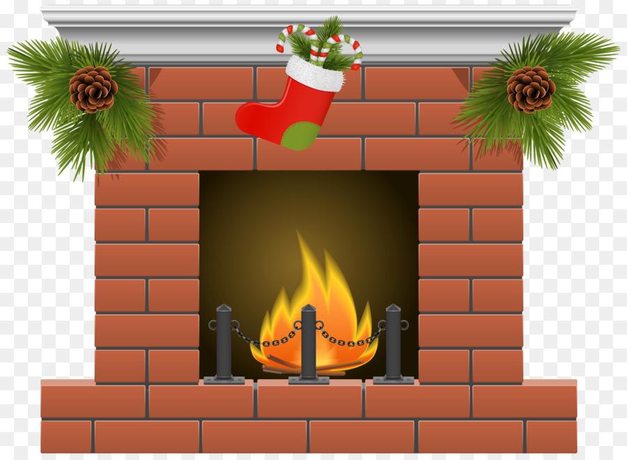 Brick clipart brick chimney. Fireplace christmas stockings clip