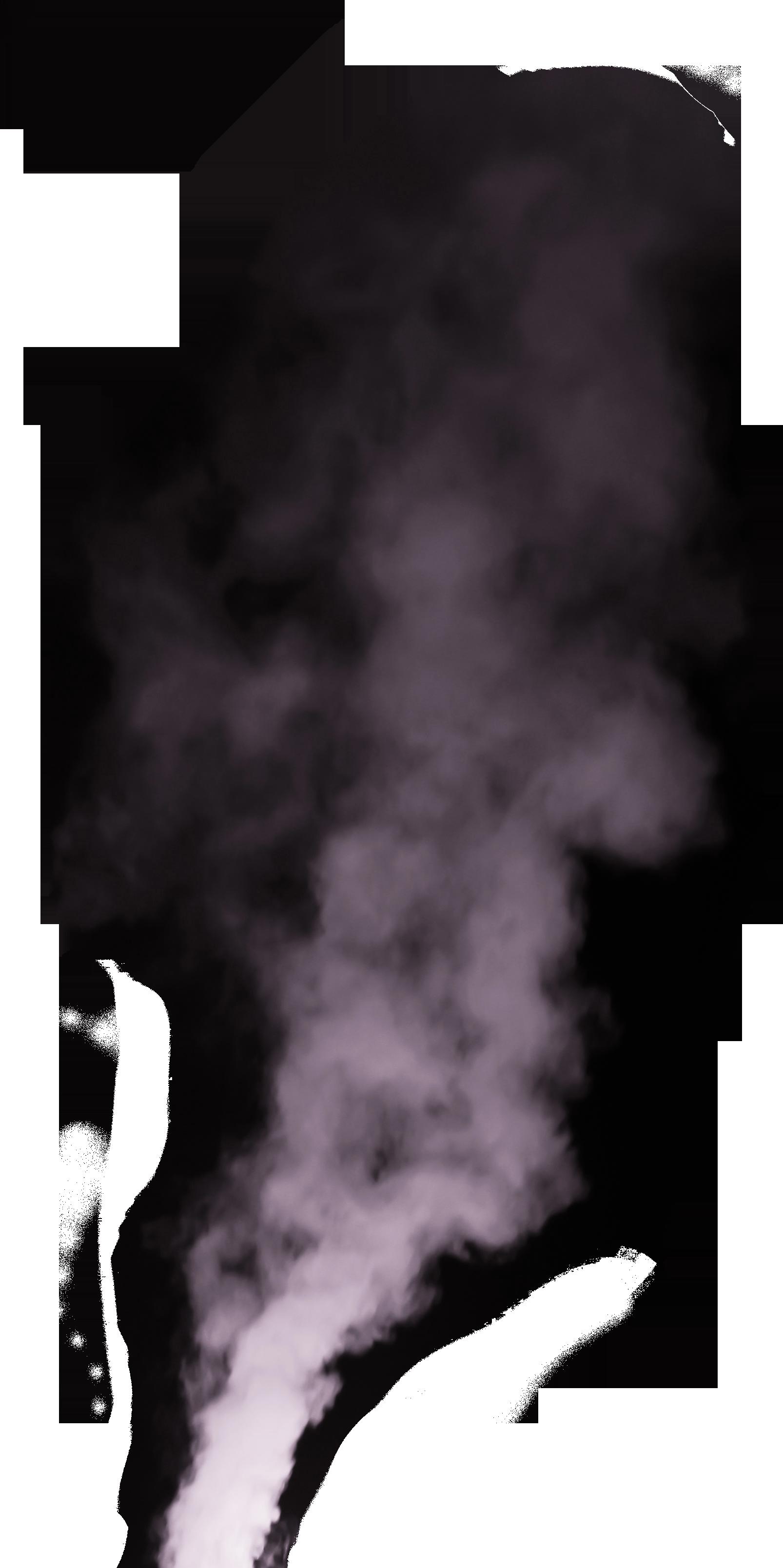 Chimney smoke png. White lavender fresh effect