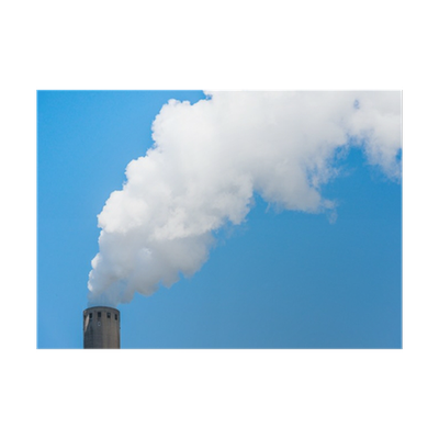 Chimney smoke png. Grey with white poster