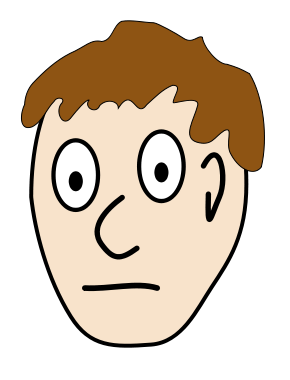 Vocabulary exercise parts of. Chin clipart body part