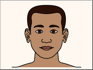 Chin clipart body part. Clip art parts of
