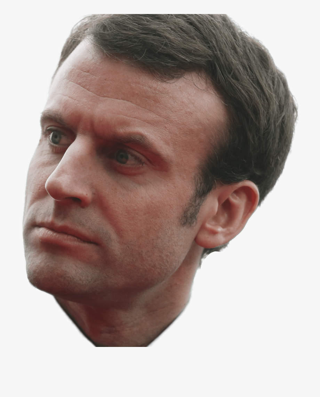 Chin clipart boy side view. Nose emmanuel macron png