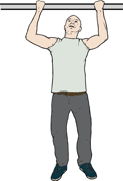Man clip art free. Chin clipart chin up