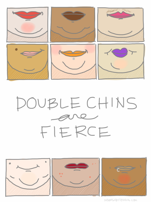 Chin clipart double chin. Chins are fierce jellypop