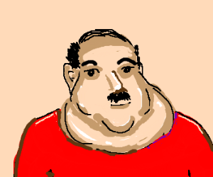 The largest in universe. Chin clipart double chin