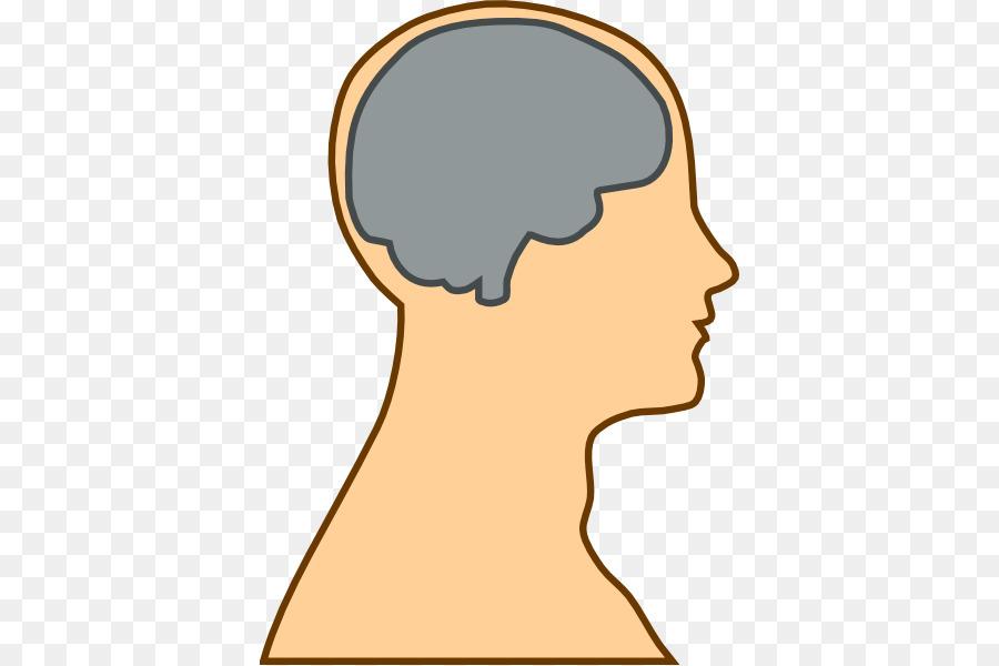 Chin clipart human neck. Brain head clip art