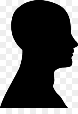 Chin clipart human neck. Free download head silhouette