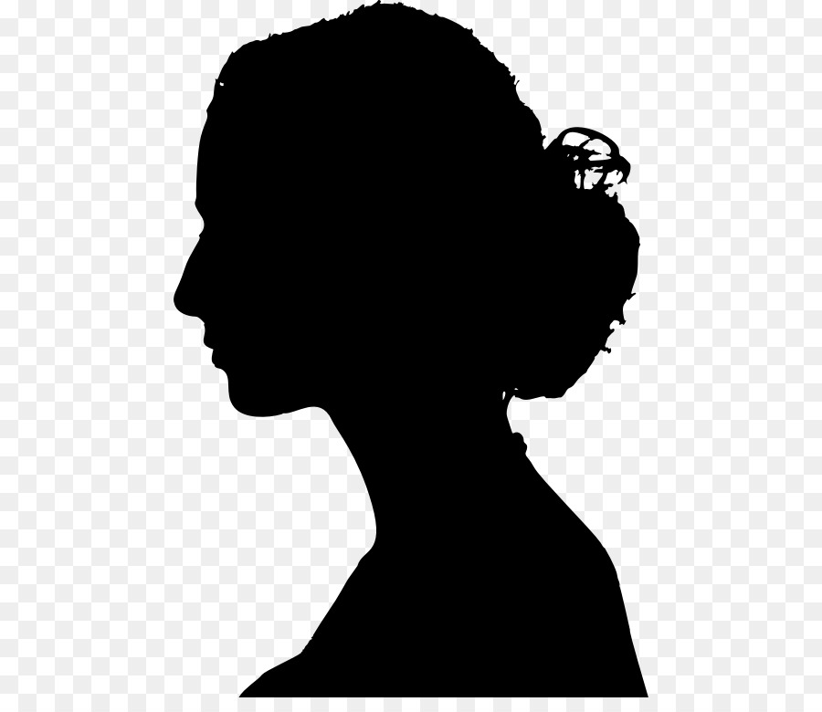 Woman female clip art. Chin clipart human neck
