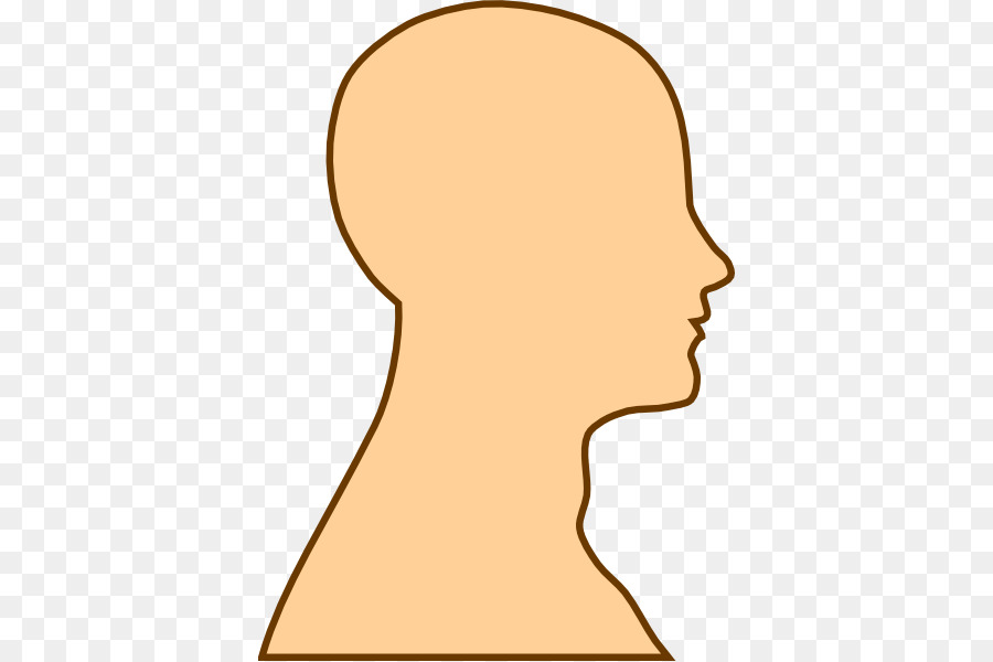 Chin clipart human neck. Brain clip art outline