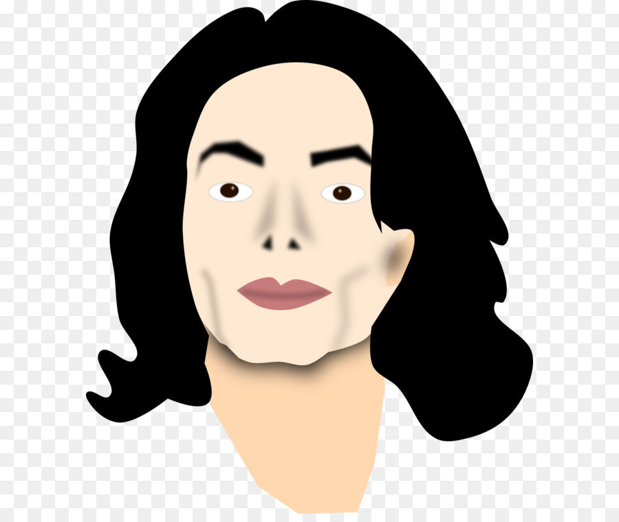 Chin clipart transparent. Michael jackson celebrity clip