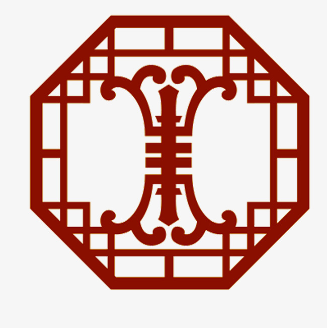 China clipart ancient. Chinese red window edge