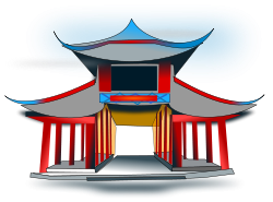 China clipart ancient. Chinese architecture png