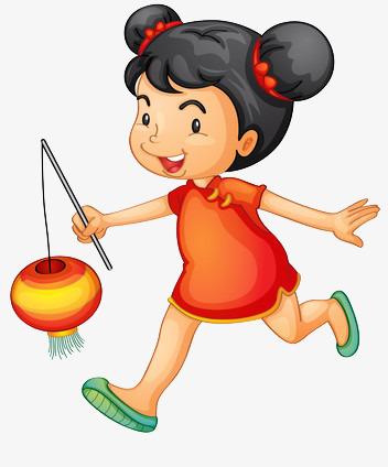 China clipart cartoon. Lantern children chinese new