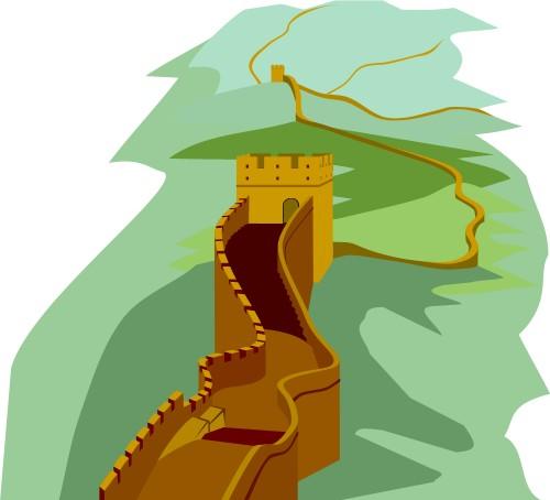 China clipart china travel. Great wall of