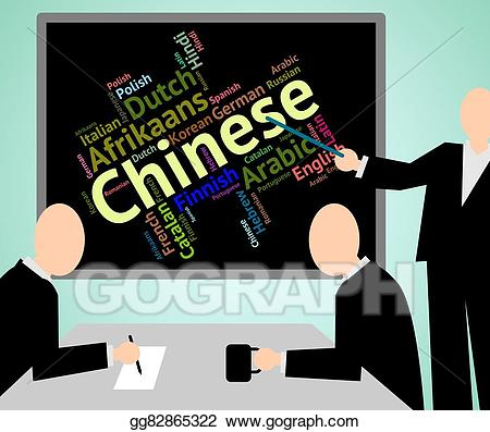 Indicates speech wordcloud and. China clipart chinese language