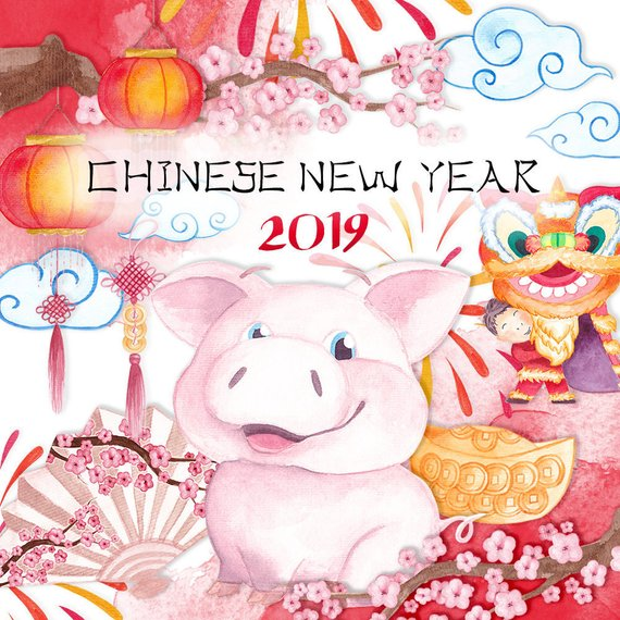 China clipart chinese new year. Of the rat