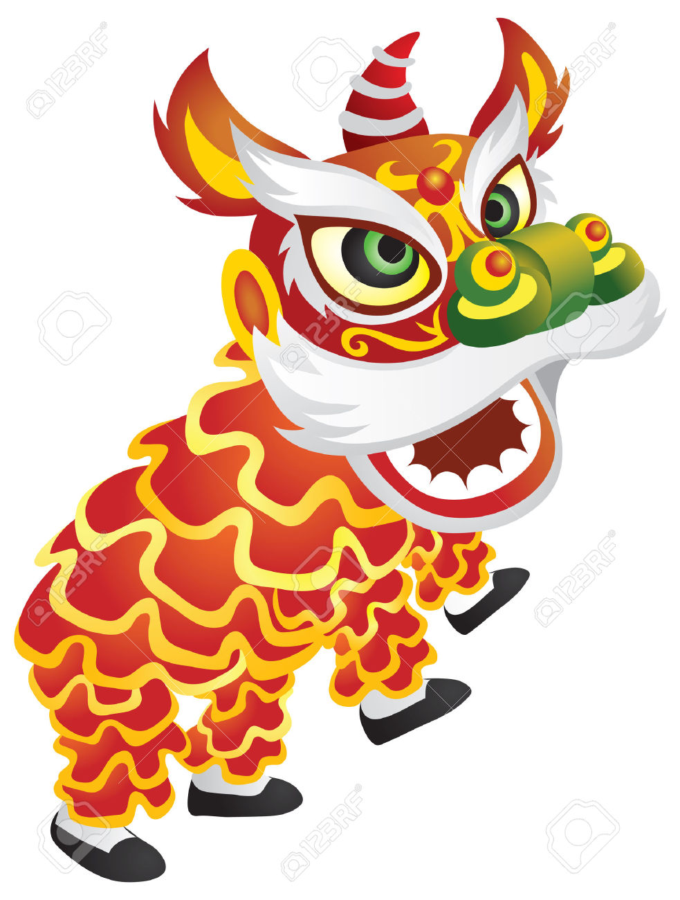 China clipart chinese new year. Dance folk free pnglogocoloring