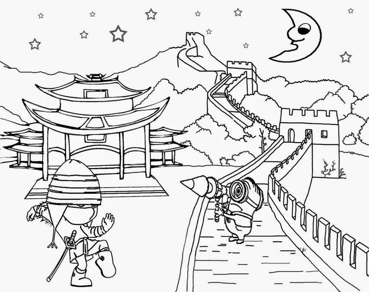 Landscape drawing at getdrawings. Chinese clipart scenery