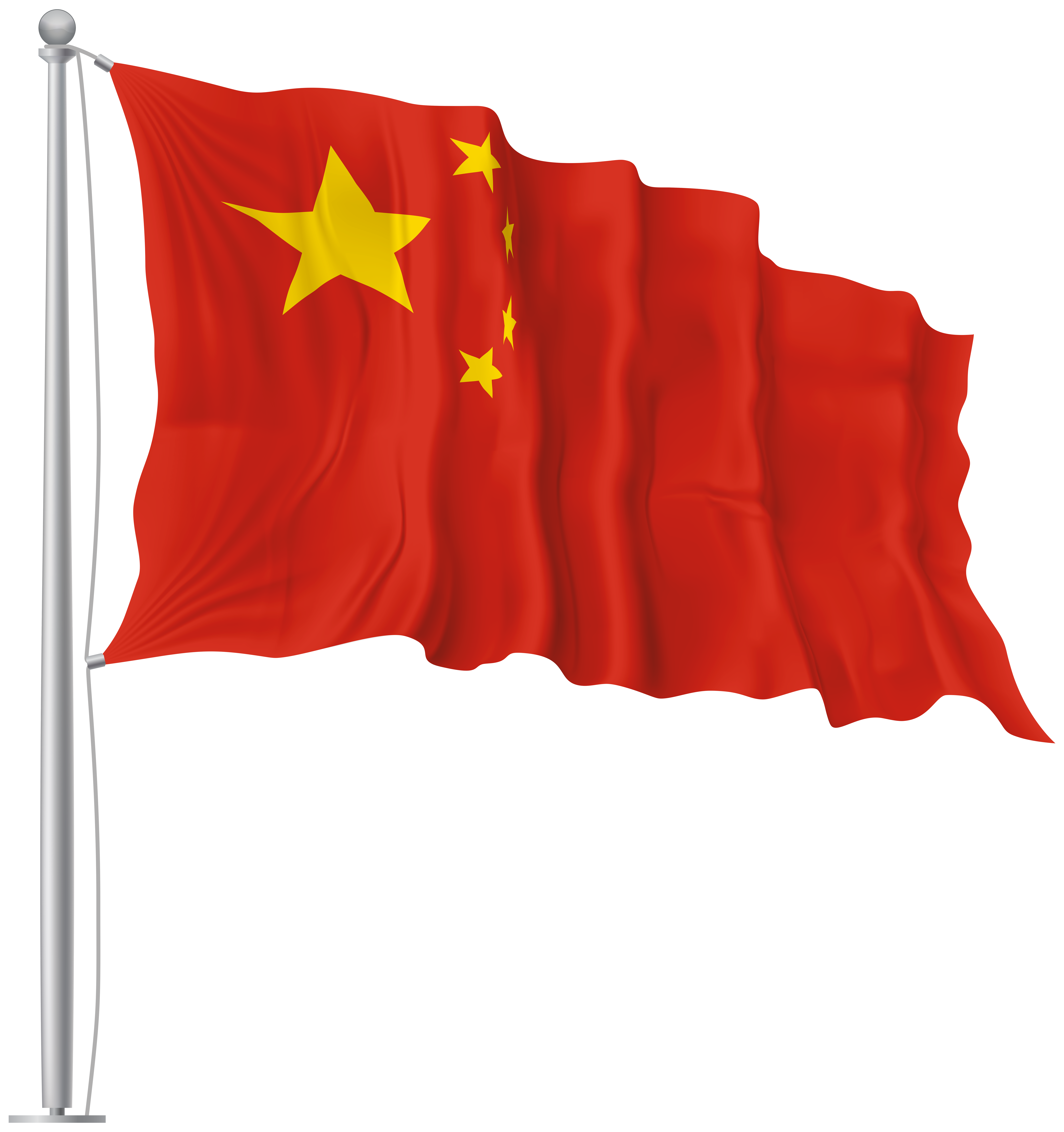 China clipart flag chinese. Waving png image gallery
