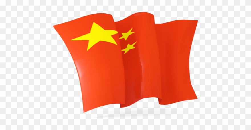 Library waving png . China clipart flag chinese