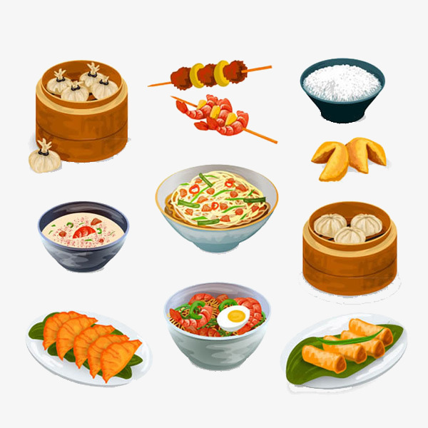 China clipart food chinese. Real free buckle creative
