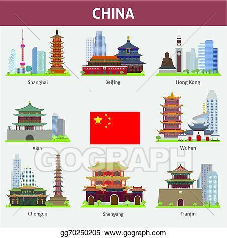 China clipart illustration. Vector stock gg gograph