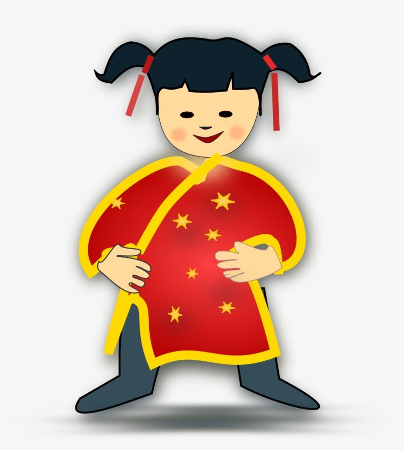 Baby icon boy kids. China clipart kid china girl