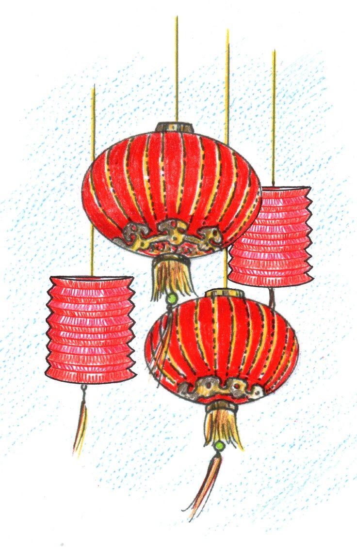 Lanterns illustration recipe of. China clipart lantern chinese