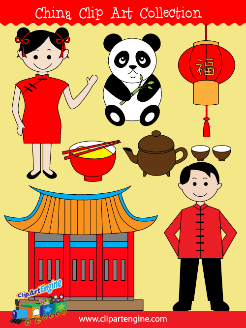 China clipart man chinese. Pin on geography clip