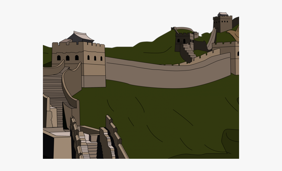 China clipart medieval. Great wall of animated