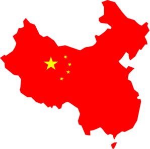 China clipart outline. Map clip art at