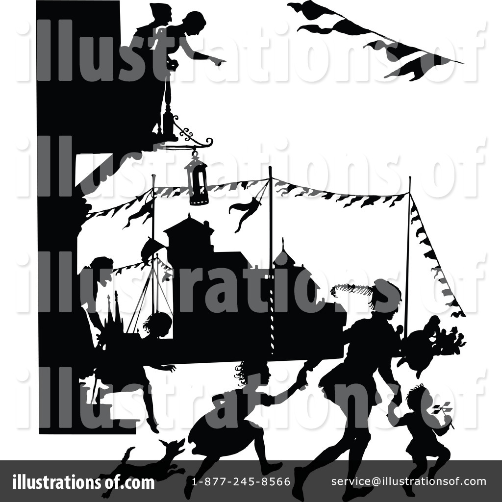 Illustration by prawny vintage. China clipart parade