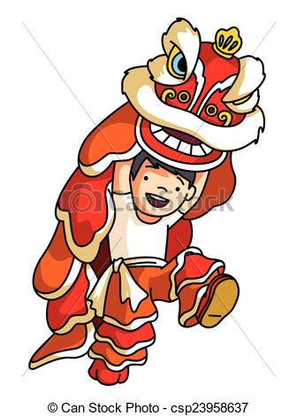 collection of chinese. China clipart parade