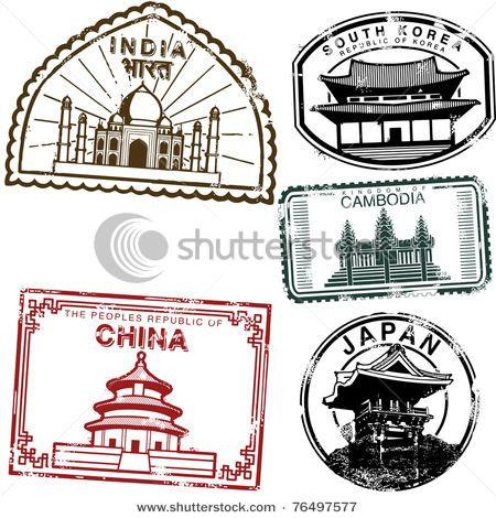 China clipart passport.  best stamps images