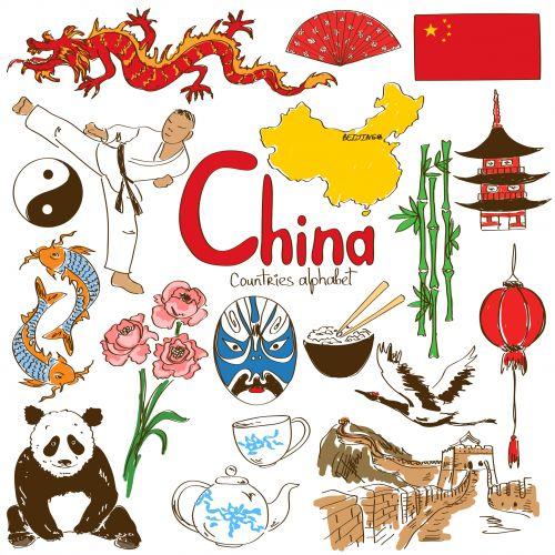 best travel sticker. China clipart passport