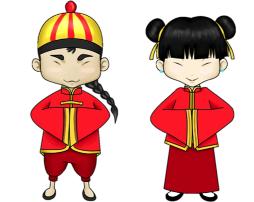 China clipart person chinese. Tradition and modernity key