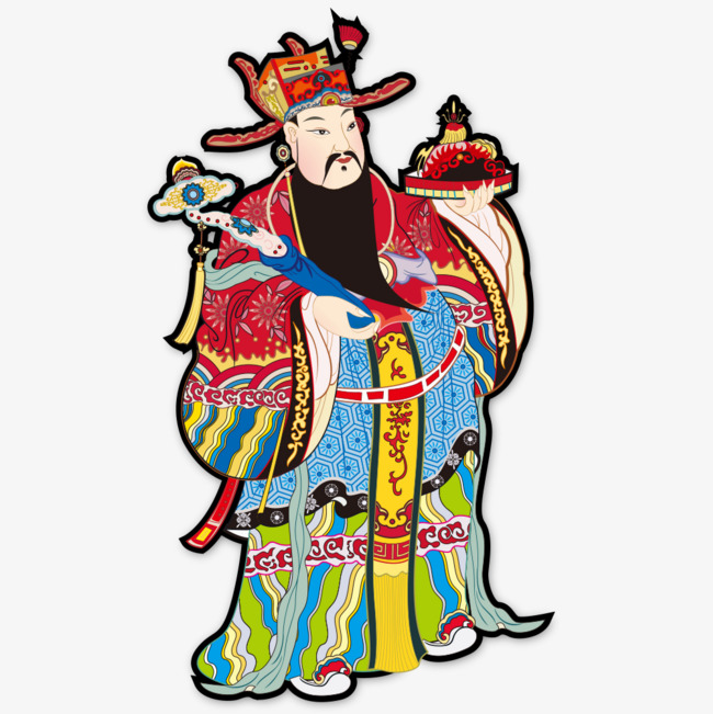 Portraits of ancient characters. China clipart person chinese