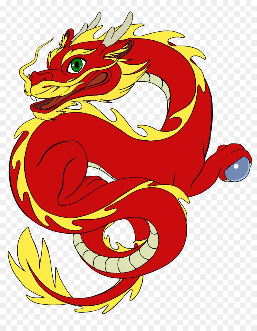 Chinese clipart chibi. China dragon clip art